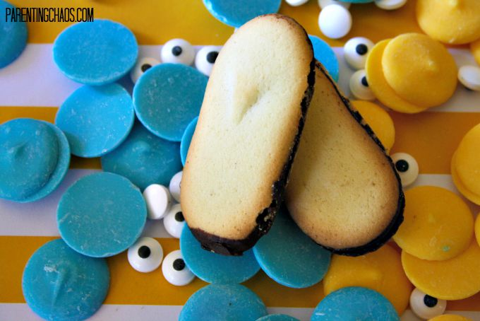 Easy Minion Cookie Ingredients