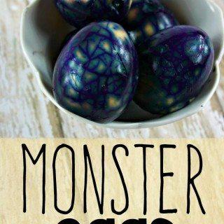 I am Loving These Monster Hard Boiled Eggs