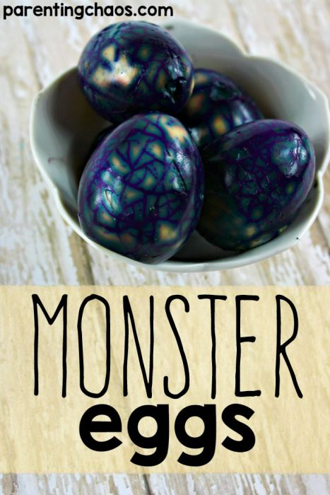 Monster Hard Boiled Eggs