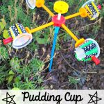 Pudding Cup Anemometer