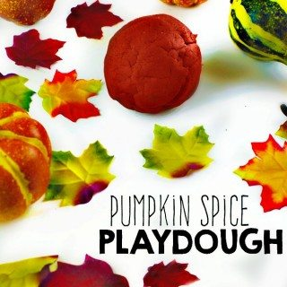 Pumpkin Spice Play Dough -- I want to make this for ME!