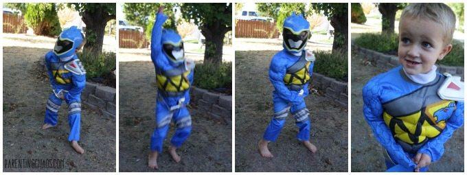 Blue Power Ranger Halloween Costume