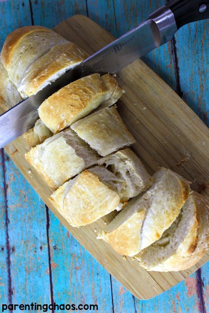 This easy bread recipe goes perfectly with a bowl of Campbell's Soup!