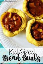 Kid Sized Bread Bowls