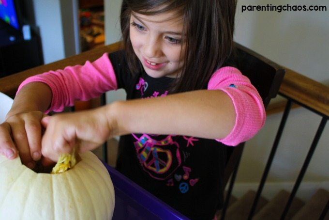 This Exploding Pumpkin Experiment is super neat! Can't wait to do it with the kids!