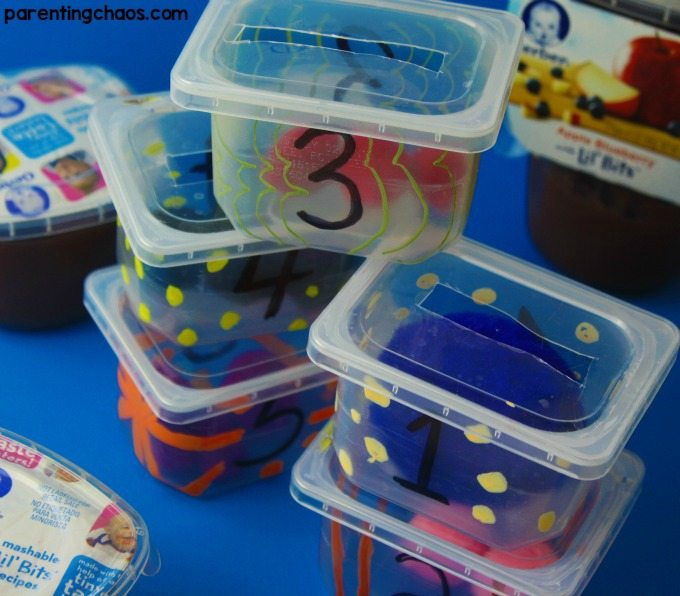 These super easy DIY Counting boxes are an amazing fun quiet time learning toy!