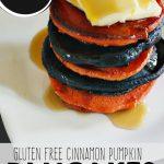 Gluten Free Cinnamon Pumpkin Pancakes
