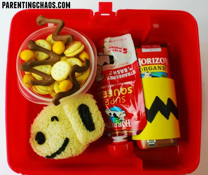 Good Grief this Peanuts Lunch is Simple to Make!