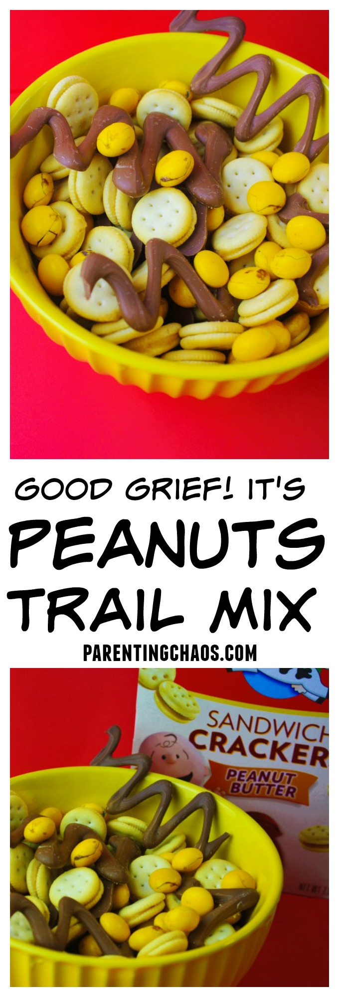 Good Grief this Peanuts Trail Mix is Simple to Make!