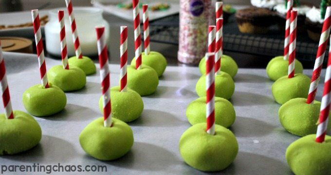 I cannot wait to try these Grinchmas Peppermint Truffles!