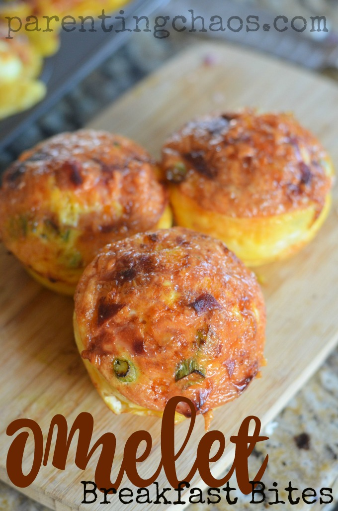 These omelet breakfast bites are BRILLIANT!