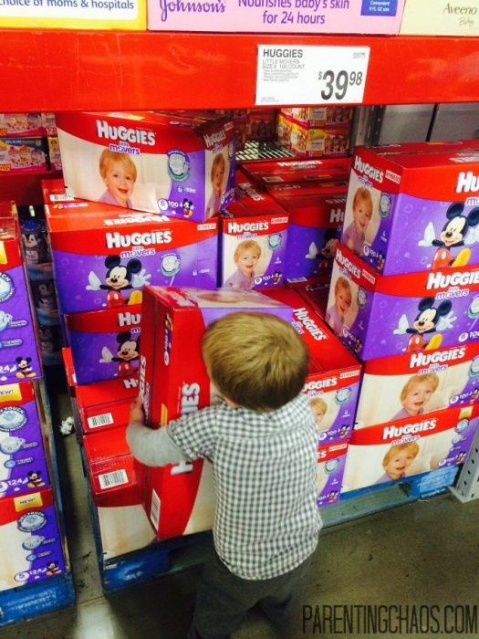 FREE Shipping When You Stock Up on Huggies Diapers using Sam's Club Pick Up