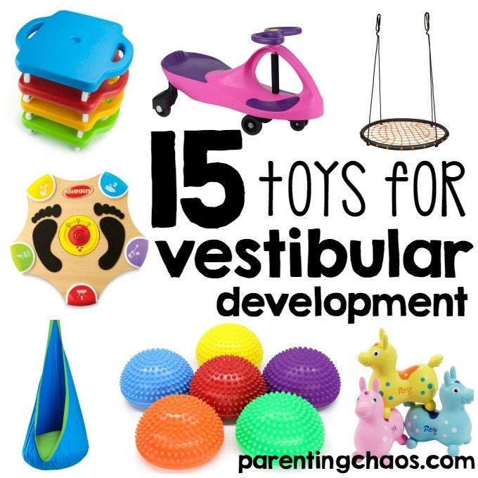 Best Toys for the Vestibular System