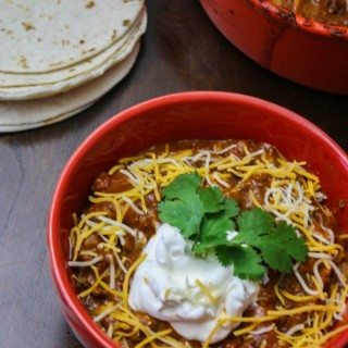 This Enchilada Chili Soup is a little bit enchilada, a little bit chili and a whole lot of yummy!