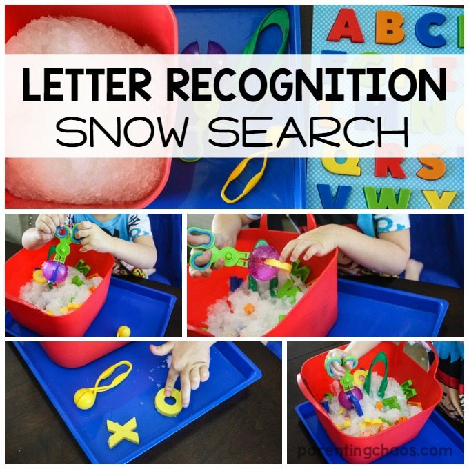 LETTER RECOGNITION SNOW SEARCH