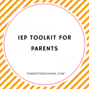 FREE IEP Toolkit for Parents