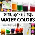 Conversation Heart Watercolor Paints