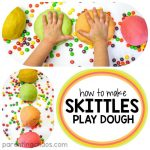 How to Make Playdough with Skittles