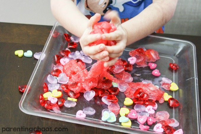 How to Make Valentines Day Slime is a fun and easy activity to explore with kids!