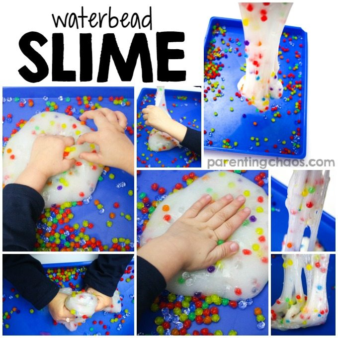 How to Make Water Bead Slime