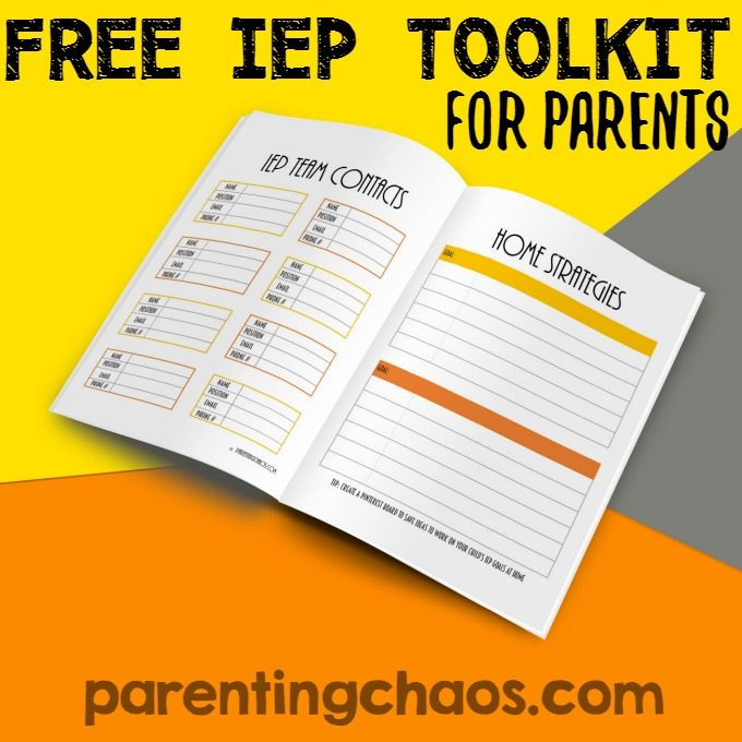 IEP Toolkit for Parents