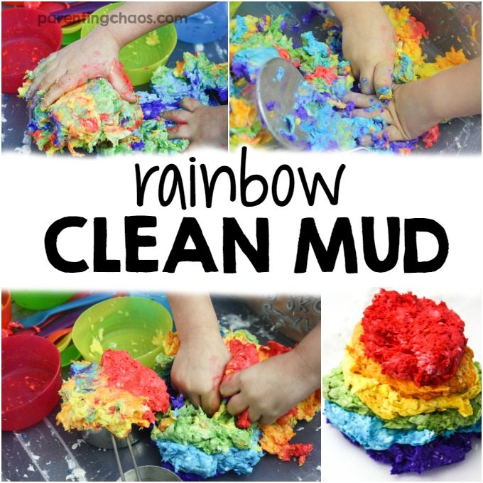 Rainbow Clean Mud