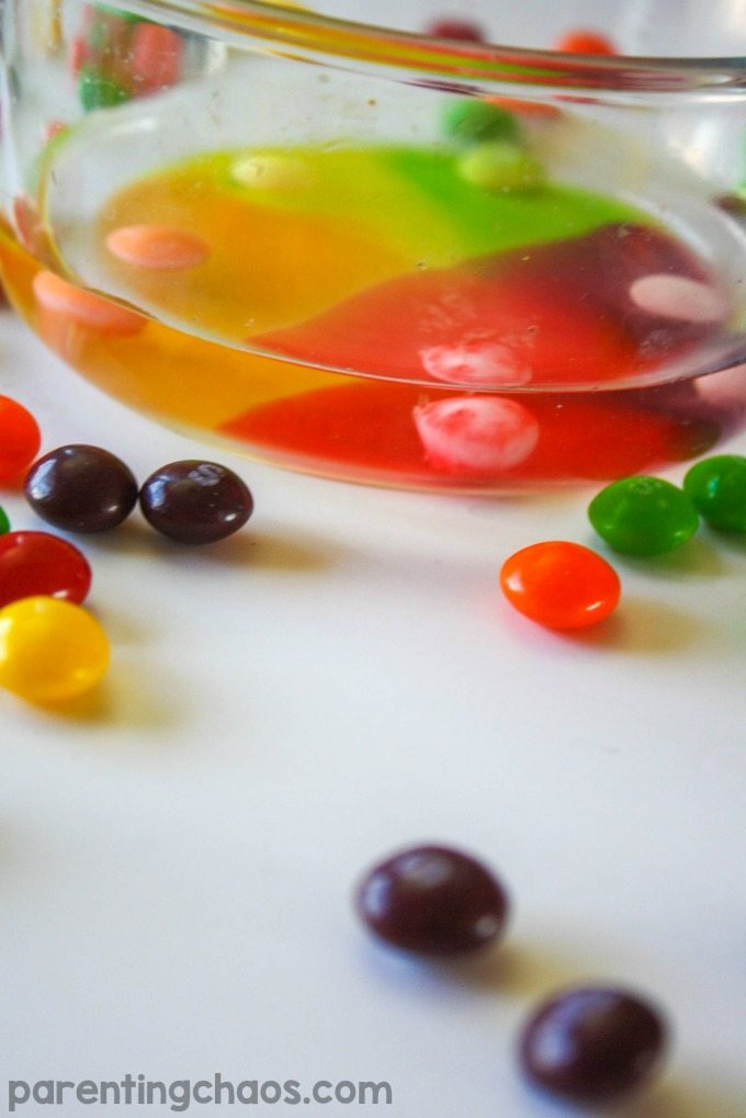 Exploring Water Stratification with Skittles Science