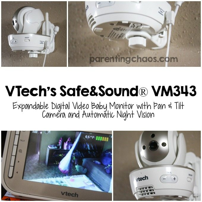 VTech VM343 Video Baby Monitor is exactly what my family had been looking for!