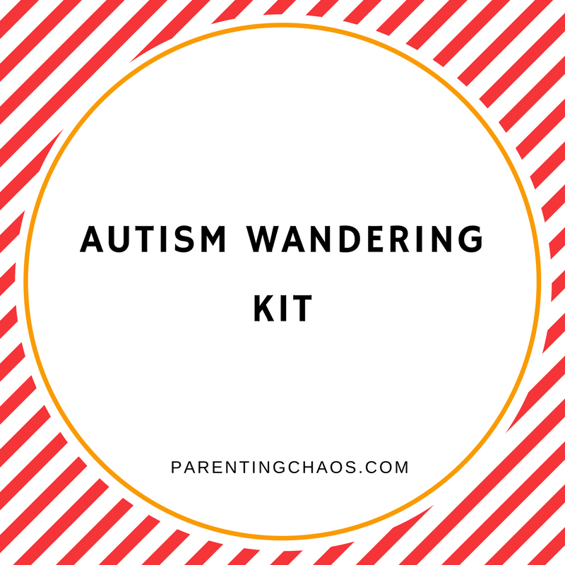 FREE Printable Autism Wandering Kit for Families