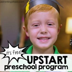 Upstart Preschool Program