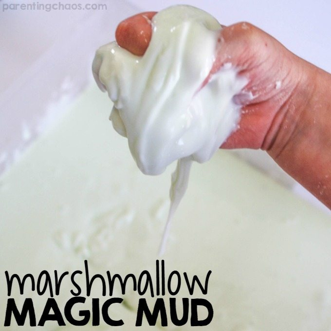 Marshmallow Magic Mud. An Awesome Peep Oobleck!
