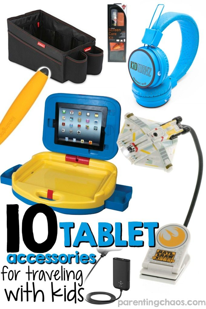 10 Tablet Essentials for Traveling with Kids