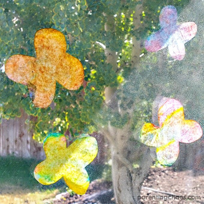 Sun Catcher Butterflies