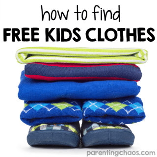 You may think that finding free kids' clothes is too good to be true. The good news is there are several sources where you can do just that.