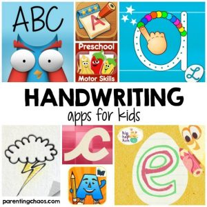 Handwriting Apps for Kids