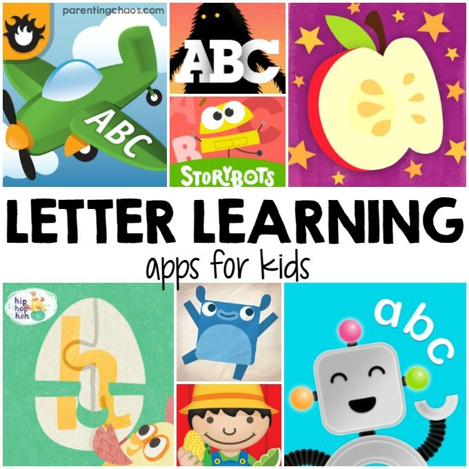 Letter Learning Apps for Kids ⋆ Parenting Chaos