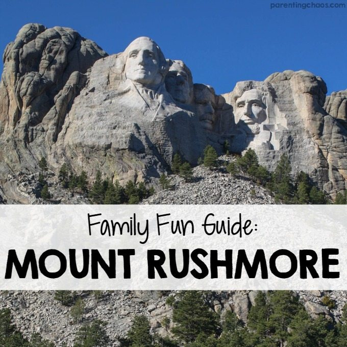 Mount Rushmore Family Fun Guide