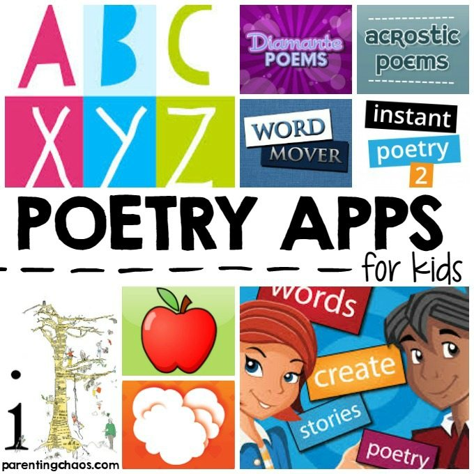 10 Poetry Apps for Kids