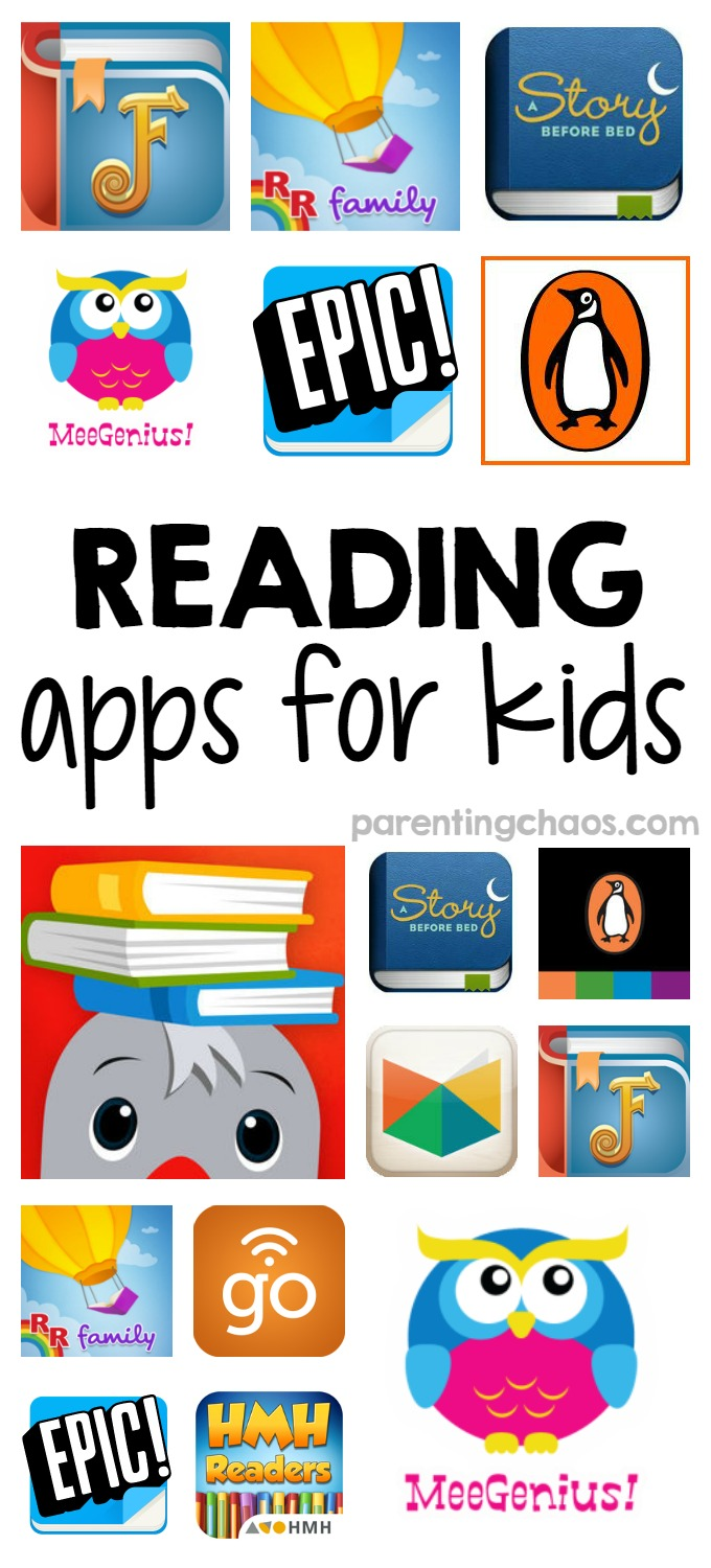 Reading Program Apps for Kids ⋆ Parenting Chaos