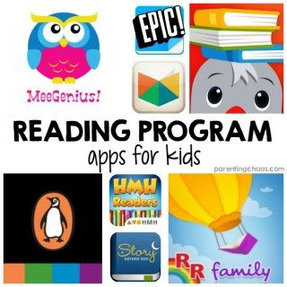 10 Reading Program Apps for Kids - a mini-library for your tablet!