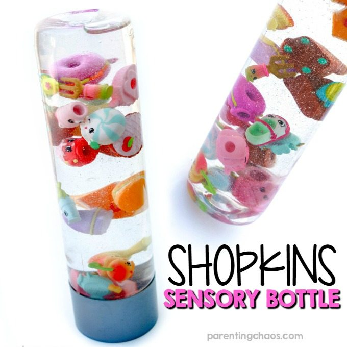 SHOPKINS SENSORY BOTTLE