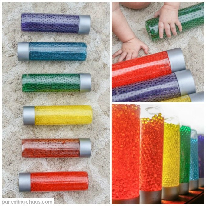 Water Bead Sensory Bottles