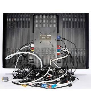 Photograph Back of Electronics