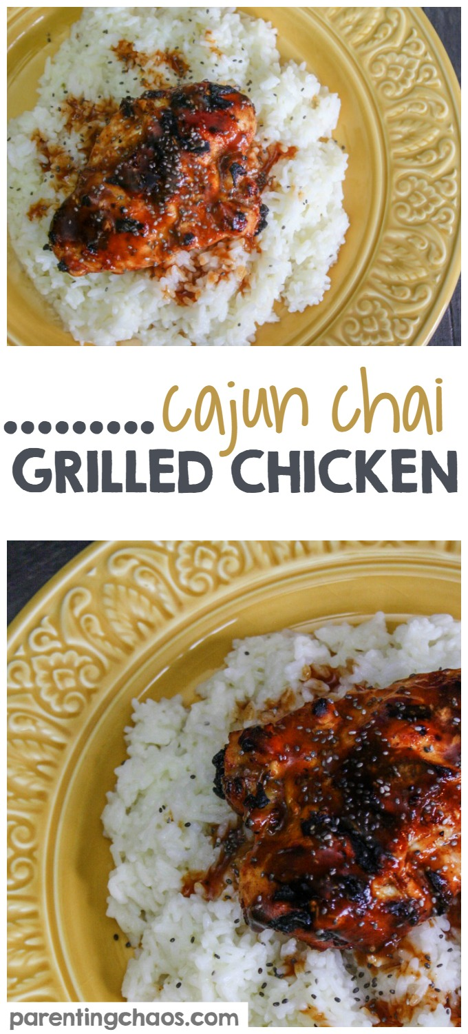 Cajun Chai Grilled Chicken