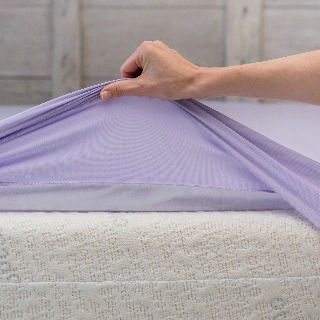Use a fitted sheet to protect a mattress