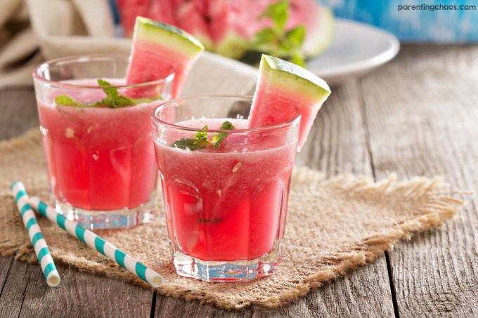 Light, fruity, and almost too easy, this Skinny Watermelon Mojito is the perfect way to enjoy summer!