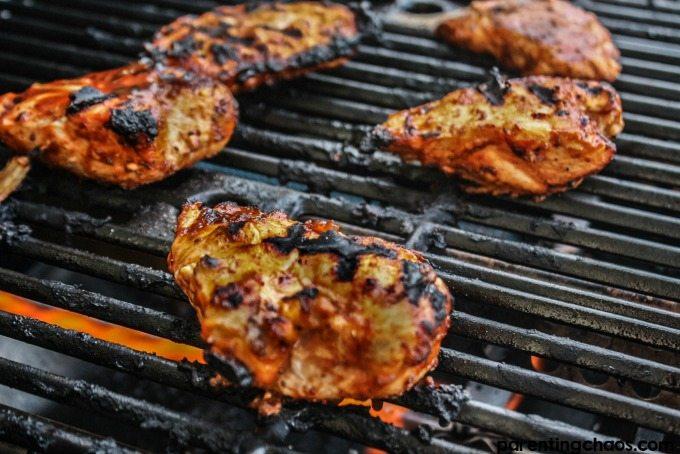 Cajun Chai Grilled Chicken