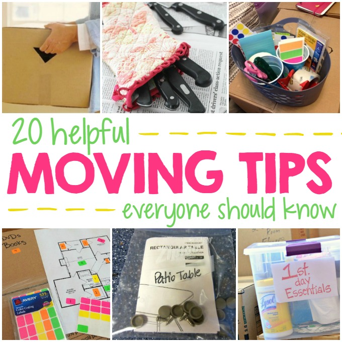 20 Helpful Moving Tips Everyone Should Know