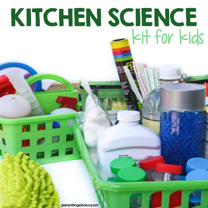 Kitchen Science Kit for Kids ⋆ Parenting Chaos