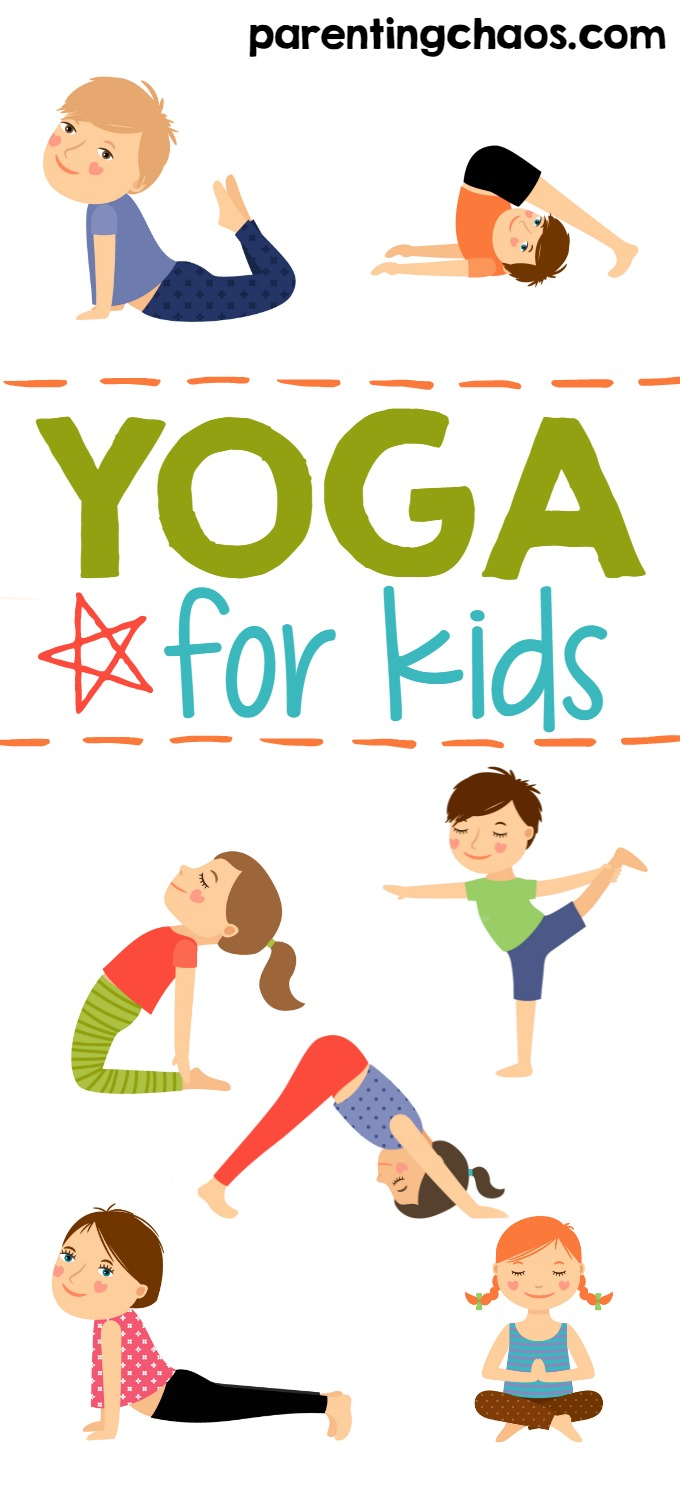 photo about Printable Yoga Poses for Preschoolers called Yoga for Children + No cost Printable ⋆ Parenting Chaos